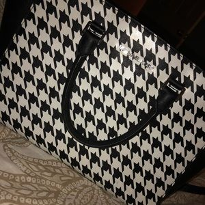 Michael Kors Houndstooth Selma Bag